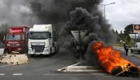 Krizdeki Fransada yeni grev dalgası yolda