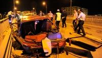 Uşakta trafik kazaları: 1 ölü, 2 yaralı