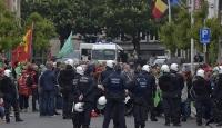 Belçikada grev hayatı durdurdu