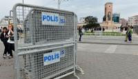 Taksimde güvenlik önlemleri alındı