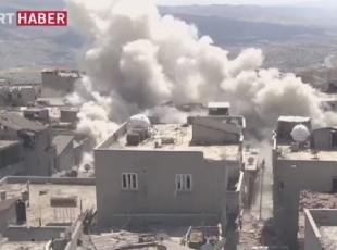 PKKnın patlayıcı imalathanesi imha edildi