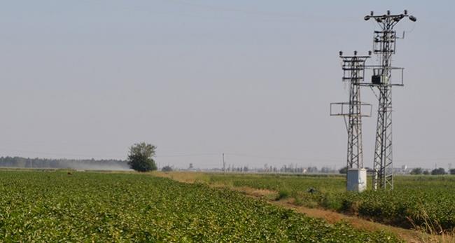 Çiftçiler sıcak hava nedeniyle akşam mesai yapıyor