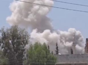 Rus savaş uçakları yerleşim yerine saldırdı
