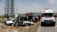 Niğdede trafik kazası: 3 ölü, 3 yaralı