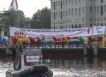 Hollandalı süt üreticilerinden protesto