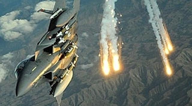 Talibana hava operasyonu düzenlendi