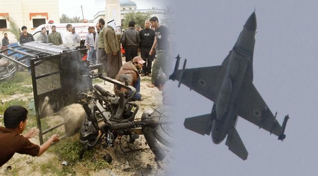 İsrail Bir Kez Daha Gazzeyi Vurdu