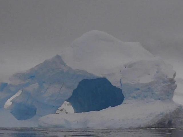 Buzdağının Çöküşü Saniye Saniye Görüntülendi