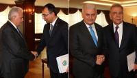Başbakan Yıldırım, Toprak ve Kocaoğlunu kabul etti