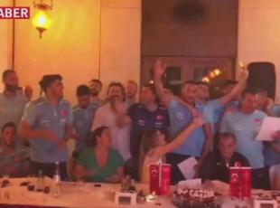 Milli Takımdan Bağdat şarkısı