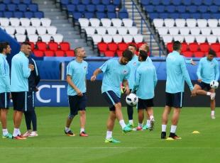 A Milli Hırvatistan maçına hazır