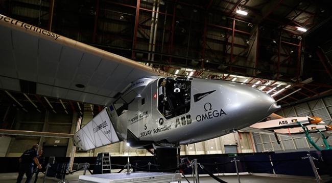 """""""Solar Impulse 2"""" Atlantiki geçmeye hazırlanıyor"""