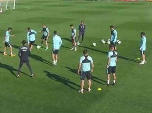 A Milli Futbol Takımında İspanya maçı hazırlıkları