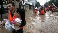 Çinde şiddetli yağış: 25 ölü, 13 kayıp