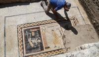 Neşeli ol hayatını yaşa mozaiğiyle ilgili çalışma tamamlandı
