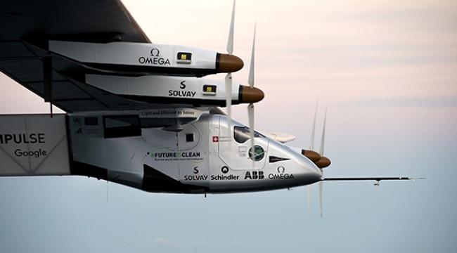 """""""Solar Impulse 2"""" Atlantiki geçmek üzere yola koyuldu"""
