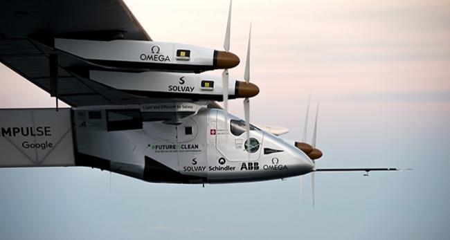 'Solar Impulse 2' Atlantik'i geçmek üzere yola koyuldu