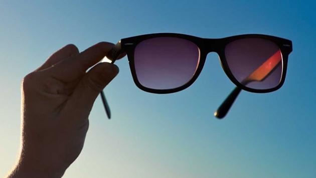 """""""Güneş gözlüğü sağlık için gerekli"""""""