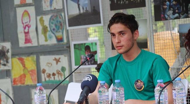 Suriyeli sığınmacı Makedonyada yeni bir hayat kurdu