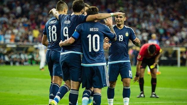 Arjantin ABD'yi yenerek finale yükseldi