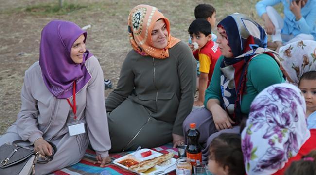 Diyanetten terör mağduru kadınlara destek