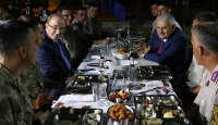 Başbakan Yıldırım Ankarada askerlerle iftar yaptı
