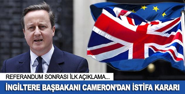 """David Camerondan """"istifa"""" kararı"""