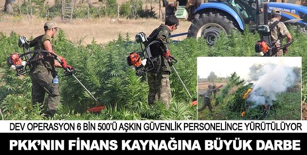 PKKnın finans kaynağına büyük darbe