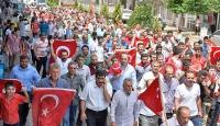 Ömerlideki terör saldırısına vatandaşlardan protesto