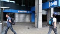 Brükselde ulaştırma sektörü çalışanları grevde