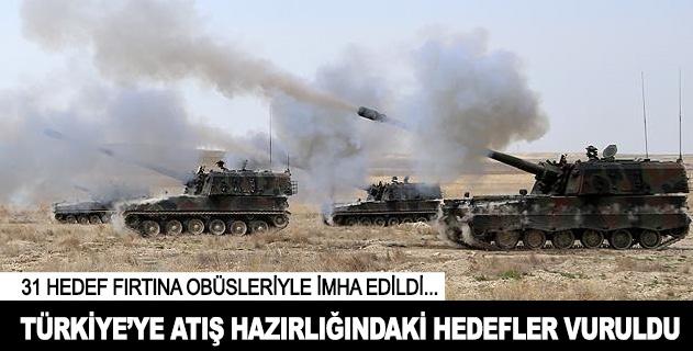Terör örgütü PKK ve DAİŞ hedefleri vuruldu