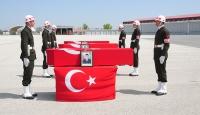 Şehit askerlerin cenazesi memleketlerine gönderildi