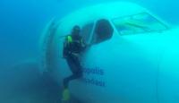 Batırılan airbus balıklara yuva oldu