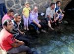 Diyarbakırlıların ramazanda sıcakla mücadelesi