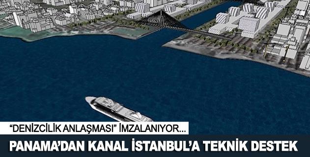 Panamadan Kanal İstanbula teknik destek