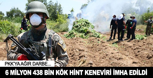 PKKnın finans kaynağına ağır darbe