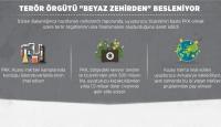 PKK beyaz zehirden besleniyor