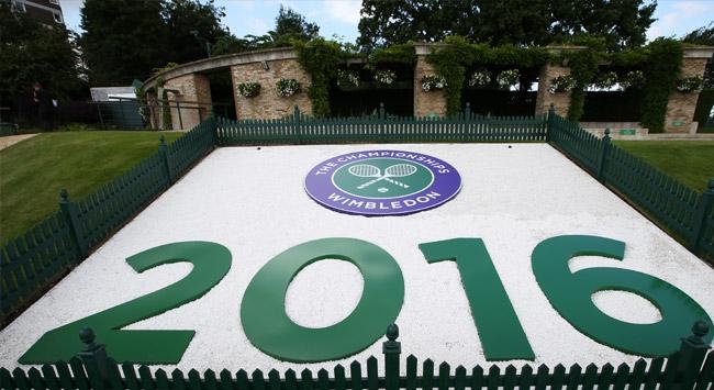 Wimbledon için geri sayım başladı