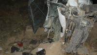 Şarampole devrilen kamyonette 3 kişi hayatını kaybetti
