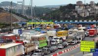 Köprü ve otoyollarında 5 aylık gelir 512 milyon lirayı aştı