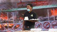 Myanmarda uyuşturucuyla mücadele