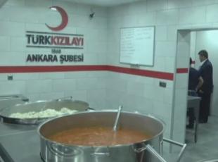 Kızılaydan Gazzeye gıda yardımı