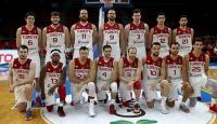A Milli Erkek Basketbol Takımın 14 kişilik kadrosu