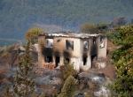 Yangın sonrası Kumluca