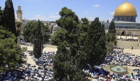 Mescid-i Aksaya Müslüman olmayanların girişi 3 gün yasak