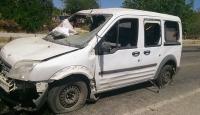 Diyarbakırda polis aracına saldırı