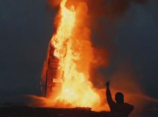 Dünyanın en büyük ateşi