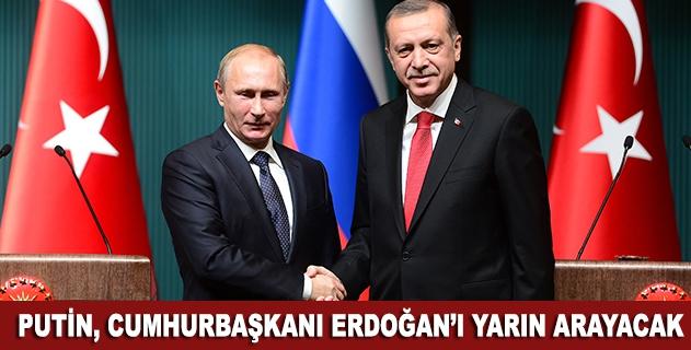 Putin, Cumhurbaşkanı Erdoğanla yarın görüşecek
