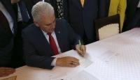 Başbakan Yıldırımdan güvenlik güçlerine bayram telgrafı