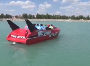 Beyşehir Gölünde jetboat dönemi